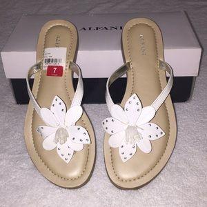 Brand new Macy's Alfani sandals, size 7.